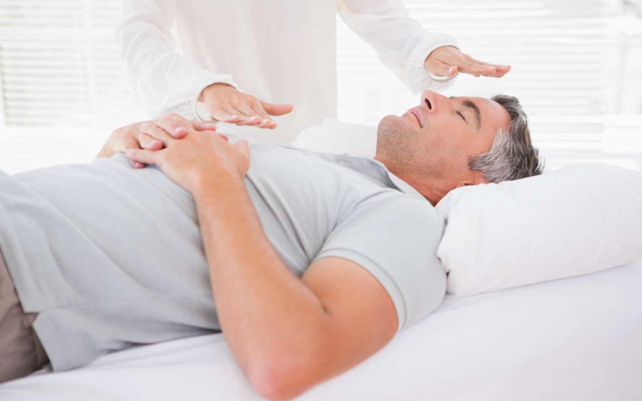 terapia de sanación reiki